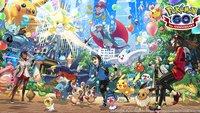 Pokémon GO wird 3 Jahre alt und du wirst belohnt
