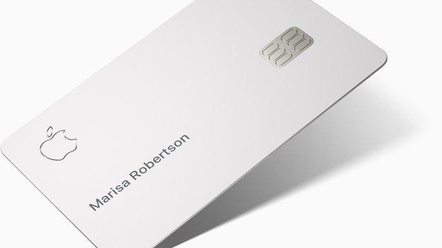Apple Card: So ausgeklügelt ist das Design der Kreditkarte