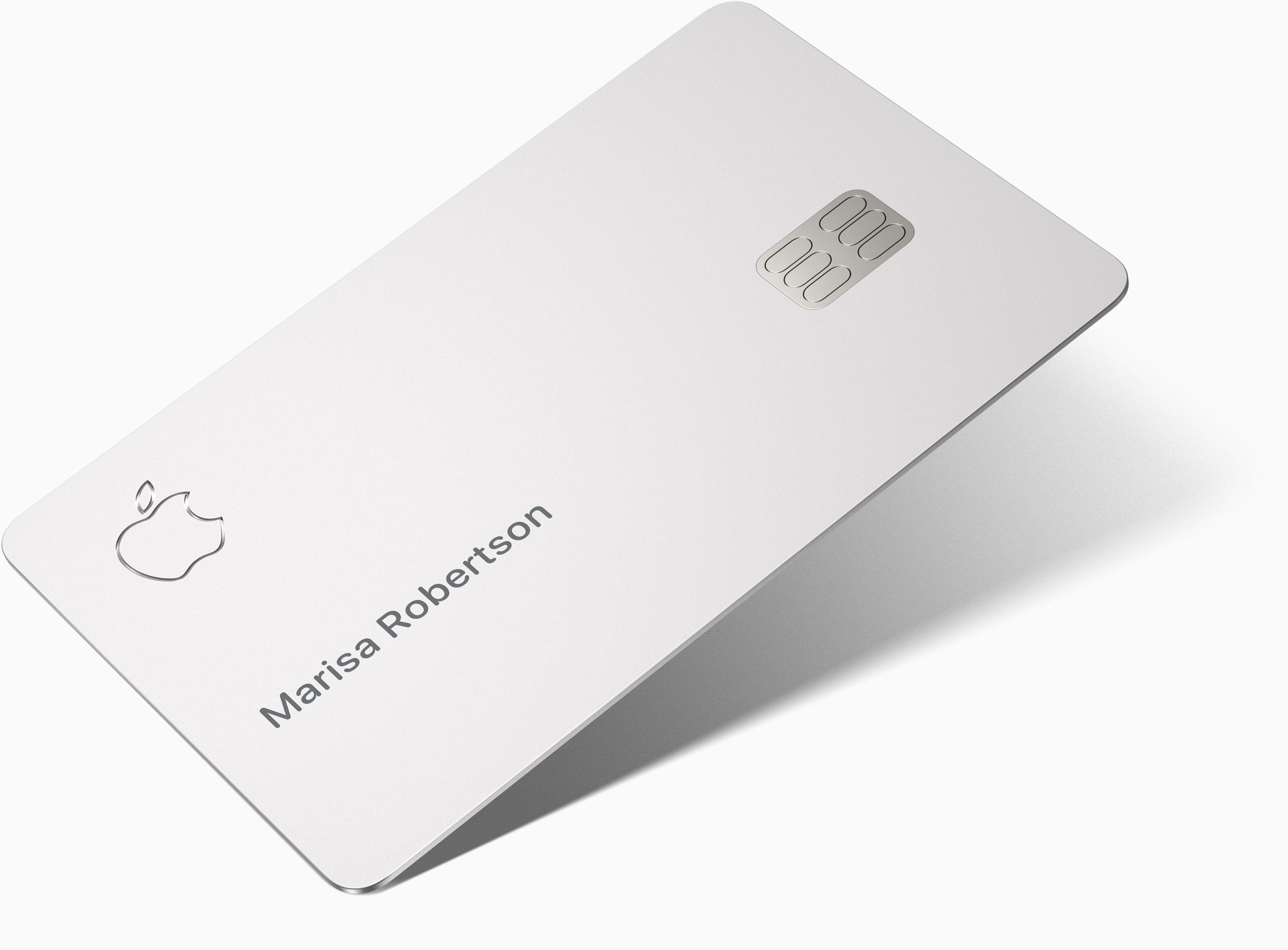 Apple Card ungeeignet fürs Portemonnaie! Mit Plastik wäre das