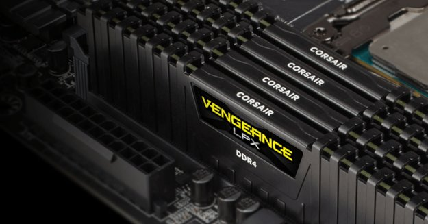 Corsair Vengeance LPX im Preisverfall: So günstig war das DDR4-Arbeitsspeicher-Kit noch nie