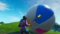 Fortnite: Strandball springen lassen - Fundorte auf der Karte
