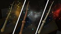 Harry Potter - Wizards Unite: Zauberstäbe von berühmten Charakteren nachbauen (Rezept-Liste)