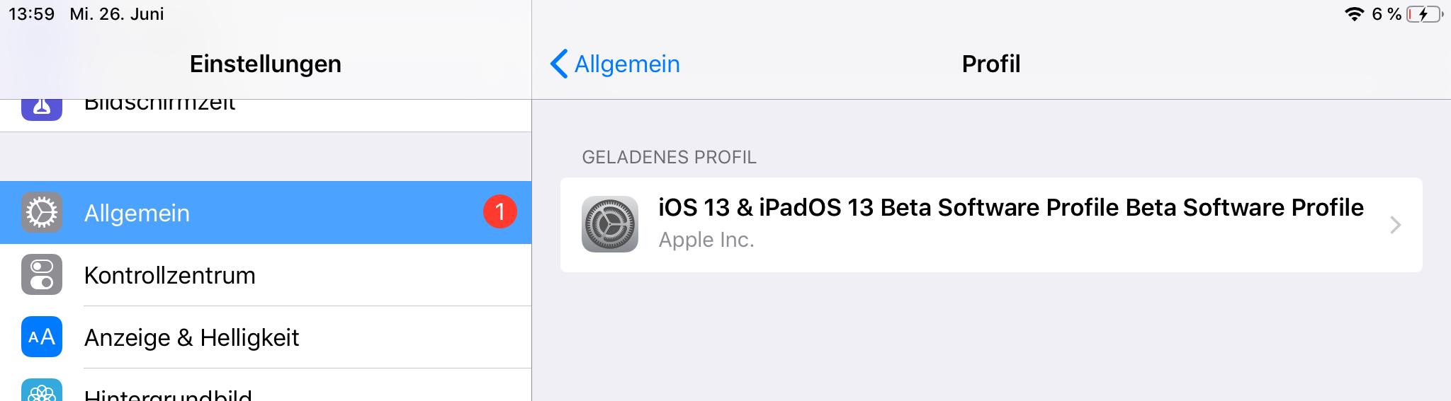 Public Beta von iOS 13 und macOS Catalina: Anmeldung und
