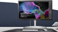 LG 4K-Display im Preisverfall: Günstiger Monitor zum Bestpreis für Mac und PC