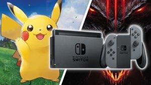 Pokémon Let's Go & Diablo 3: Reduzierte Nintendo Switch-Bundles zum Bestpreis