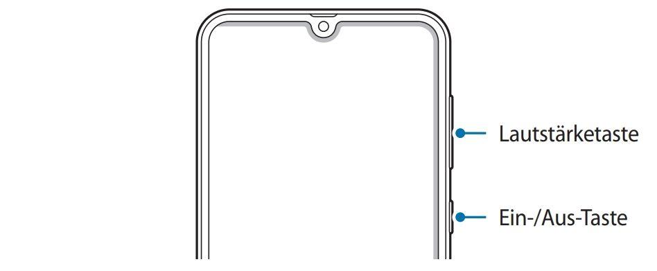 Samsung A40 Screenshot Machen