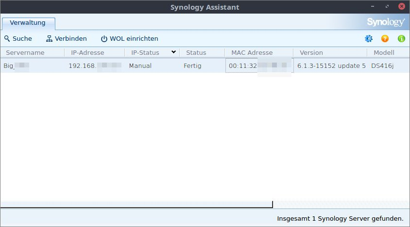 Synology Assistant Download