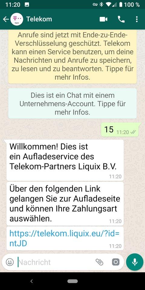 Whatsapp Prepaid Telekom