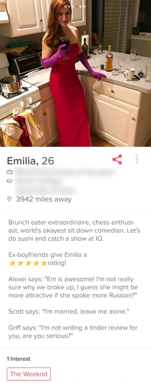 Profil beschreibung vorlage tinder Tinder Profil
