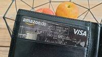 Amazon-Kreditkarte zum Black Friday: Bis 60 € geschenkt, 3% auf Amazon-Käufe, weitere Vorteile