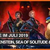 Spiele-Releases im Juli: Stranger Things, Wolfenstein: Youngblood & Sea of Solitude