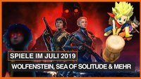 Spiele-Releases im Juli: Stranger Things, Wolfenstein: Youngblood & Sea of Solitude