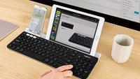Logitech K780: Clevere Bluetooth-Tastatur noch wenige Stunden stark reduziert