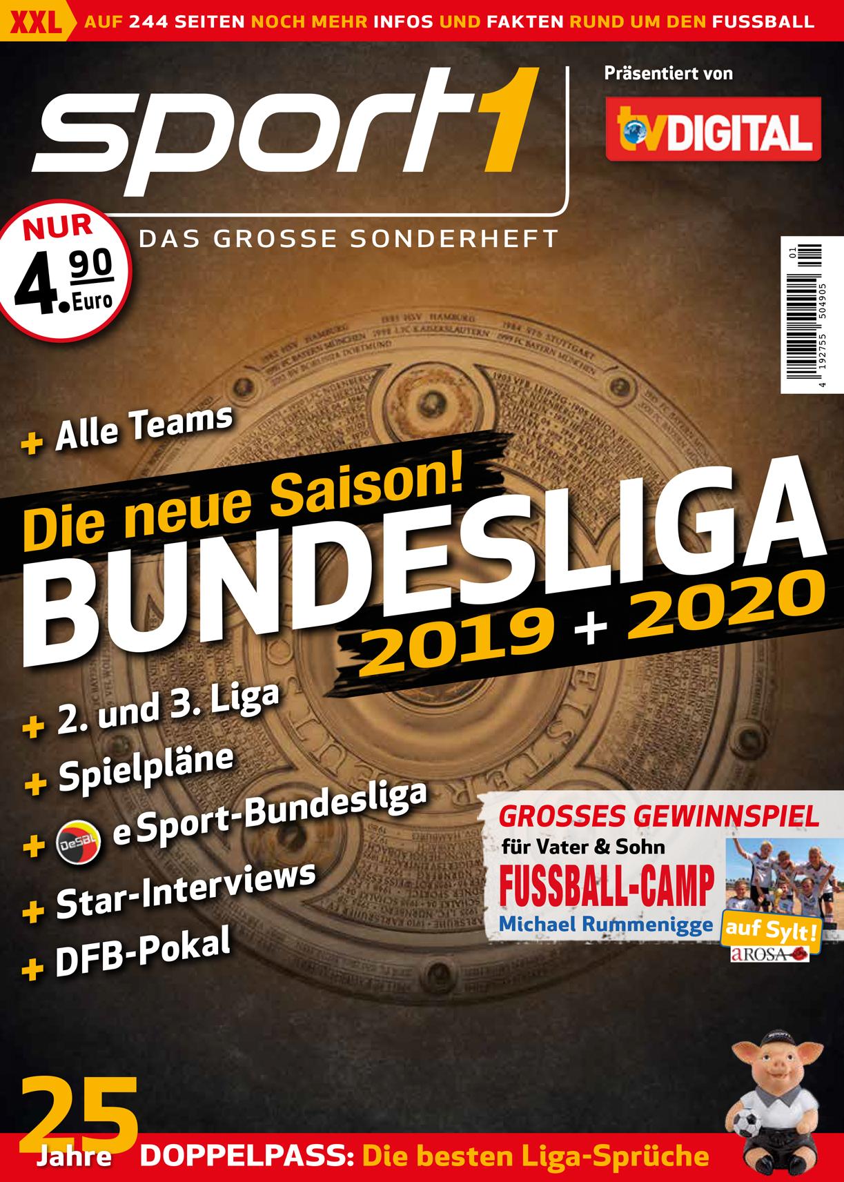 Bundesliga Sonderhefte 2019 2020 Wann Gibts Kicker Sport