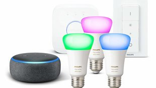 Philips Hue: Color Ambiance Starter Kit + Echo Dot am Amazon Prime Day zum absoluten Tiefstpreis