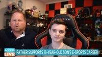16-Jähriger wird von seinem Vater zum E-Sportler gedrillt