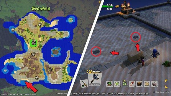 Dragon Quest Builders 2: Alle Minimedaillen - Fundorte und Rätsel on