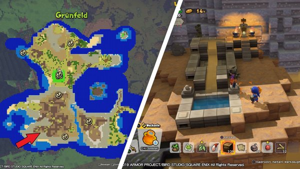 Dragon Quest Builders 2: Alle Minimedaillen - Fundorte und ...