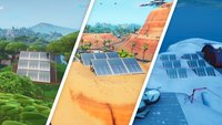 Fortnite: Sonnenkollektoren in Schnee, Wüste, Dschungel - Fundorte (Season 9, Woche 9)