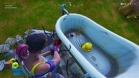 Fortnite: Winzige Gummiente auf Ladebildschirm Sommerschlacht - Fundort auf der Karte