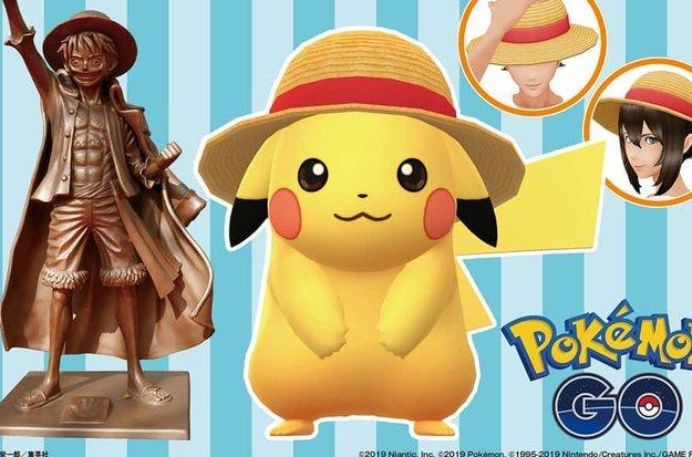 Pokémon Go startet bald Kooperation mit One Piece