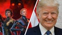 Donald Trump bekommt in Wolfenstein Youngblood sein Fett weg