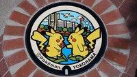 Ultrasüße Pokémon-Gullydeckel in Japan entdeckt