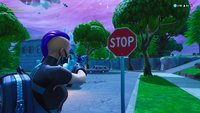 Fortnite: Stoppschilder zerstören - Fundorte auf der Karte (Season 10)