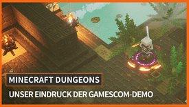 Minecraft Dungeons angespielt: So fin...