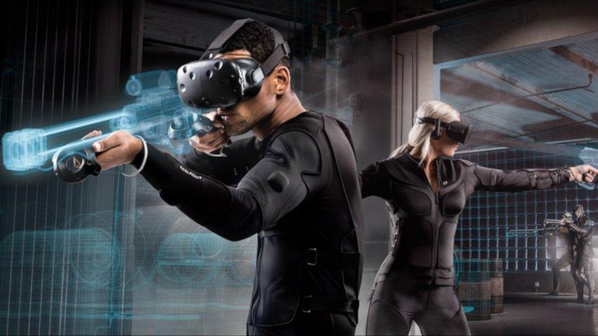 In diesem VR-Anzug sollst du Regen fühlen können - und