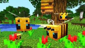 Minecraft: Neues Update bringt summende, flauschige Bienen mit sich