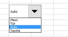 Excel: ComboBox (Kombinationsfeld) erstellen – so geht's