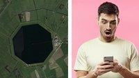 Jemand hat Google Earth durchsucht und das sind seine besten Funde