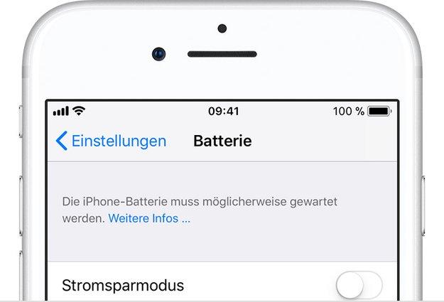 """Lösung: """"Die iPhone-Batterie muss möglicherweise gewartet werden"""" (iPhone-Fehler)"""
