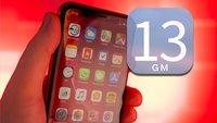 iOS 13 Golden Master für iPhone und iPad veröffentlicht: Apple schließt Beta-Testphase ab