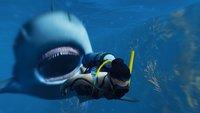Als Hai in Maneater beißt du Menschen die Körperteile ab und überlässt sie dann ihrem Schicksal