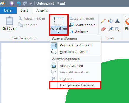 Windows 10 hintergrund transparent
