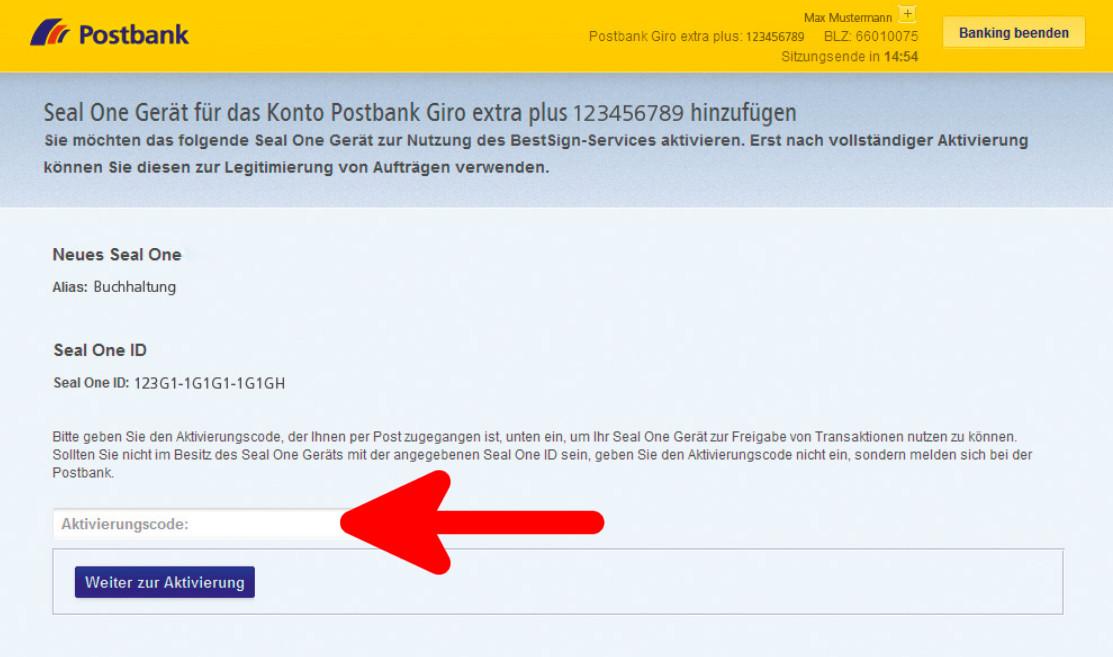 postbank online banking neu einrichten