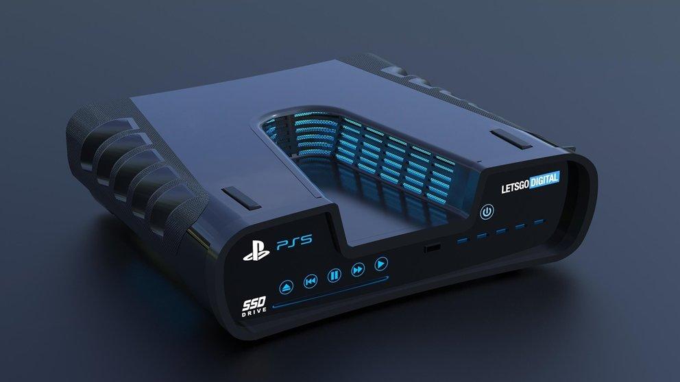 PS5: Ein erstes 3D-Modell zum Patent, das derzeit die Gerüchteküche brodeln lässt