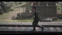 Red Dead Redemption 2: Cowboy trägt seine Suppe quer über die halbe Map