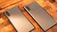 Samsung Galaxy Note 10 (Plus): Vergleich von Akkukapazität und Laufzeit