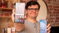 Samsung Galaxy Note 10 (Plus): Ausschalten & Neustart