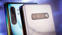 Benchmark-Vergleich: Samsung Galaxy Note 10 Plus vs. S10 Plus und Huawei P30 Pro
