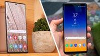 Samsung Galaxy Note 10 Plus und Note 9 im Vergleich: Lohnt sich der Umstieg?