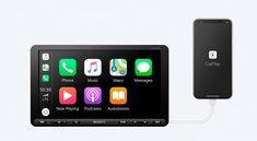 So groß wie ein iPad: Sony stellt gigantisches CarPlay-System vor