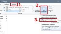 Windows 10: Versteckte Ordner anzeigen – so geht's