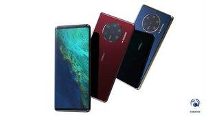 Nokia 10 PureView: So könnte das Kamera-Handy mit 6 Linsen aussehen