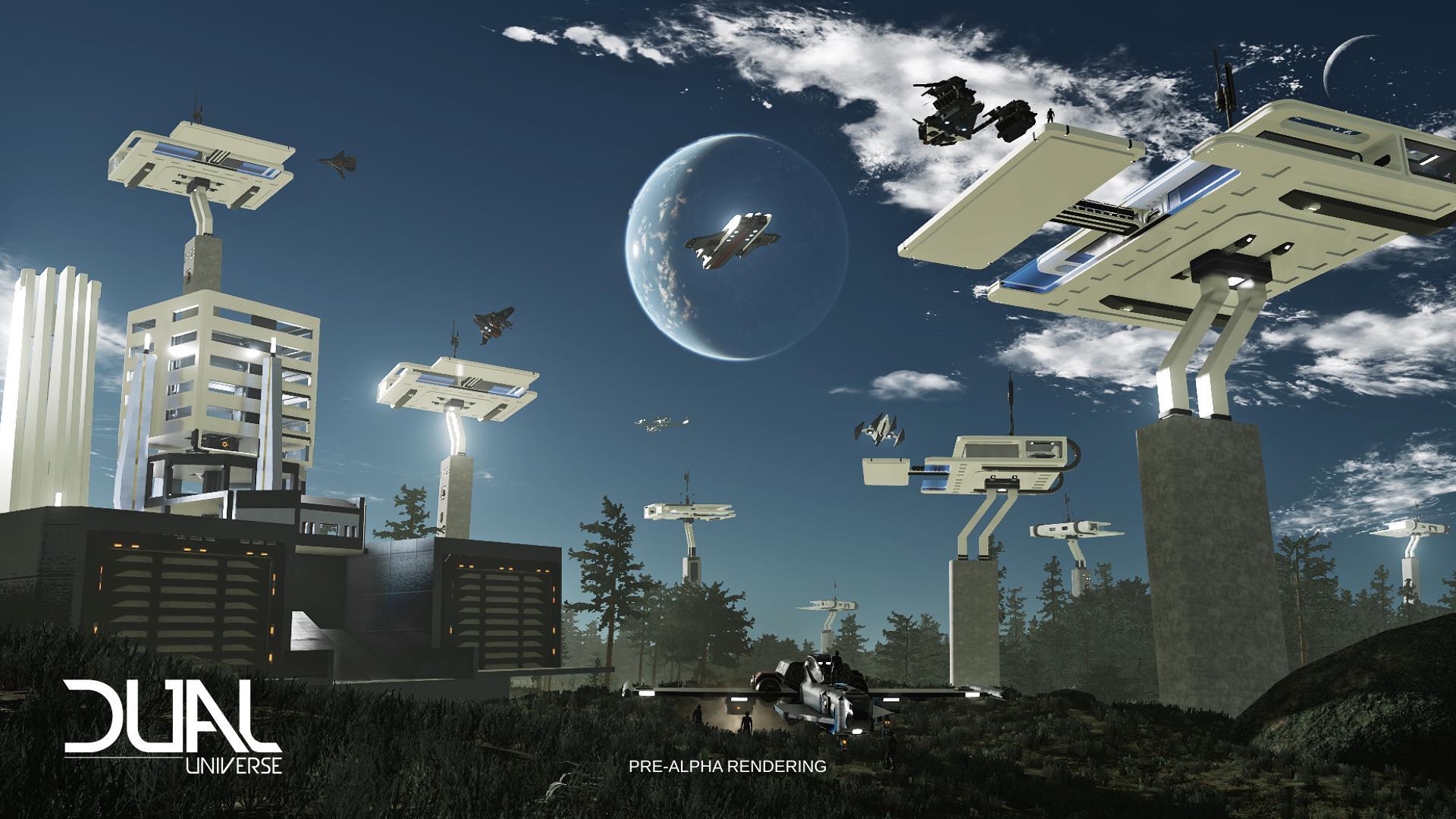 Dual Universe ist komplexer als Minecraft, obwohl es noch in den Kinderschuhen steckt