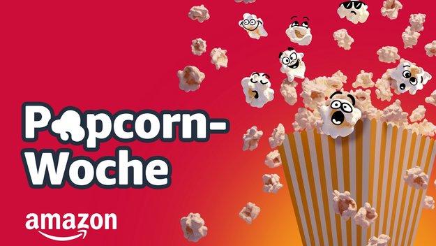 Amazon Popcorn-Woche: Filme, Serien, Fernseher & Heimkino-Zubehör im Angebot