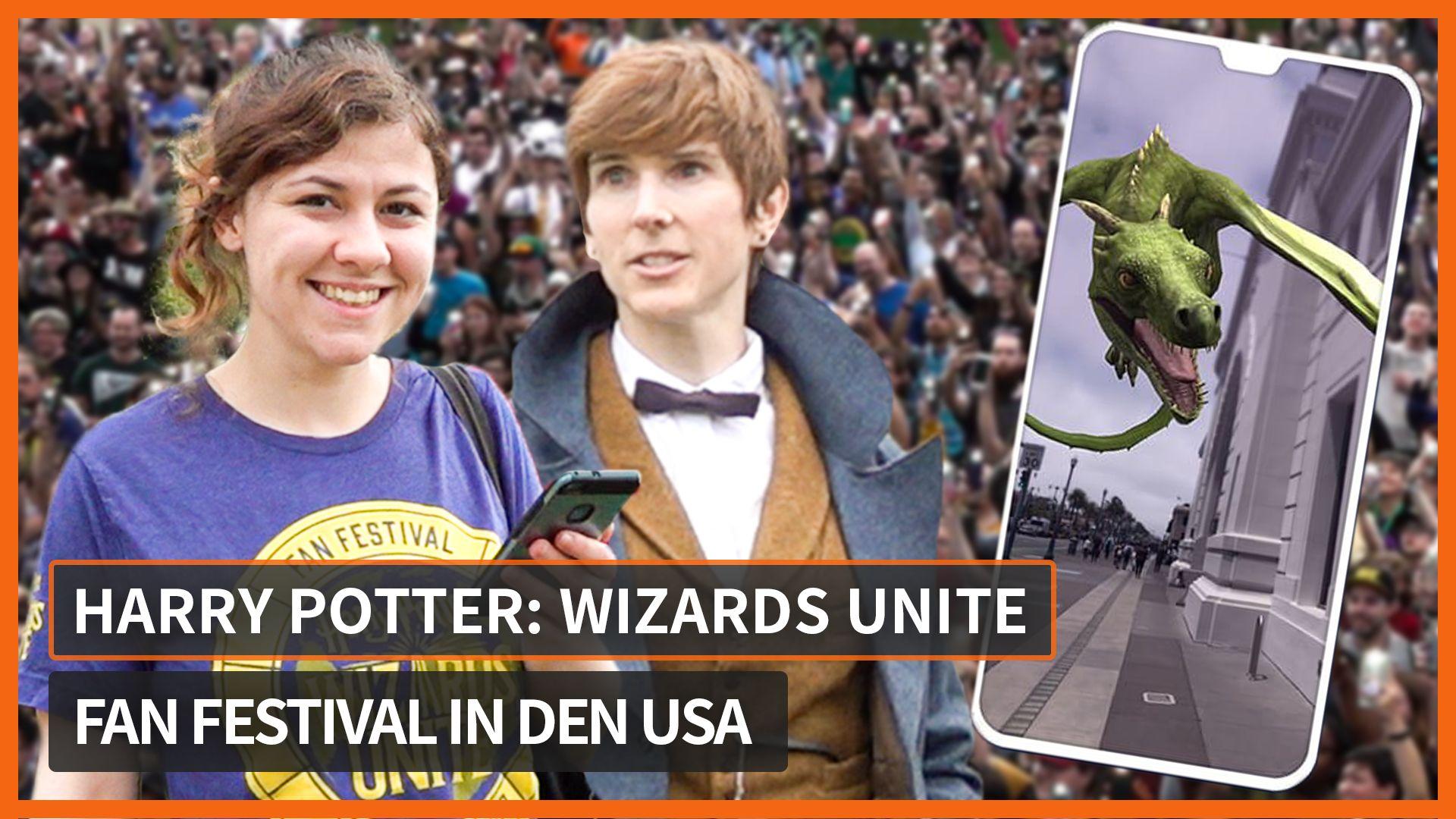 Wizards unite drachen